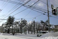 2008年12月25日の大雪