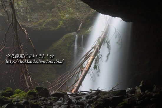 小樽にある穴滝