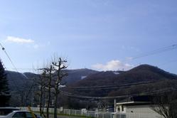 2009/4/27 定山渓雪景色