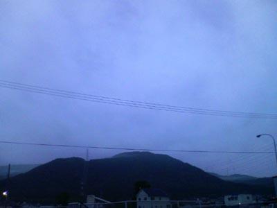 朝方の手稲山