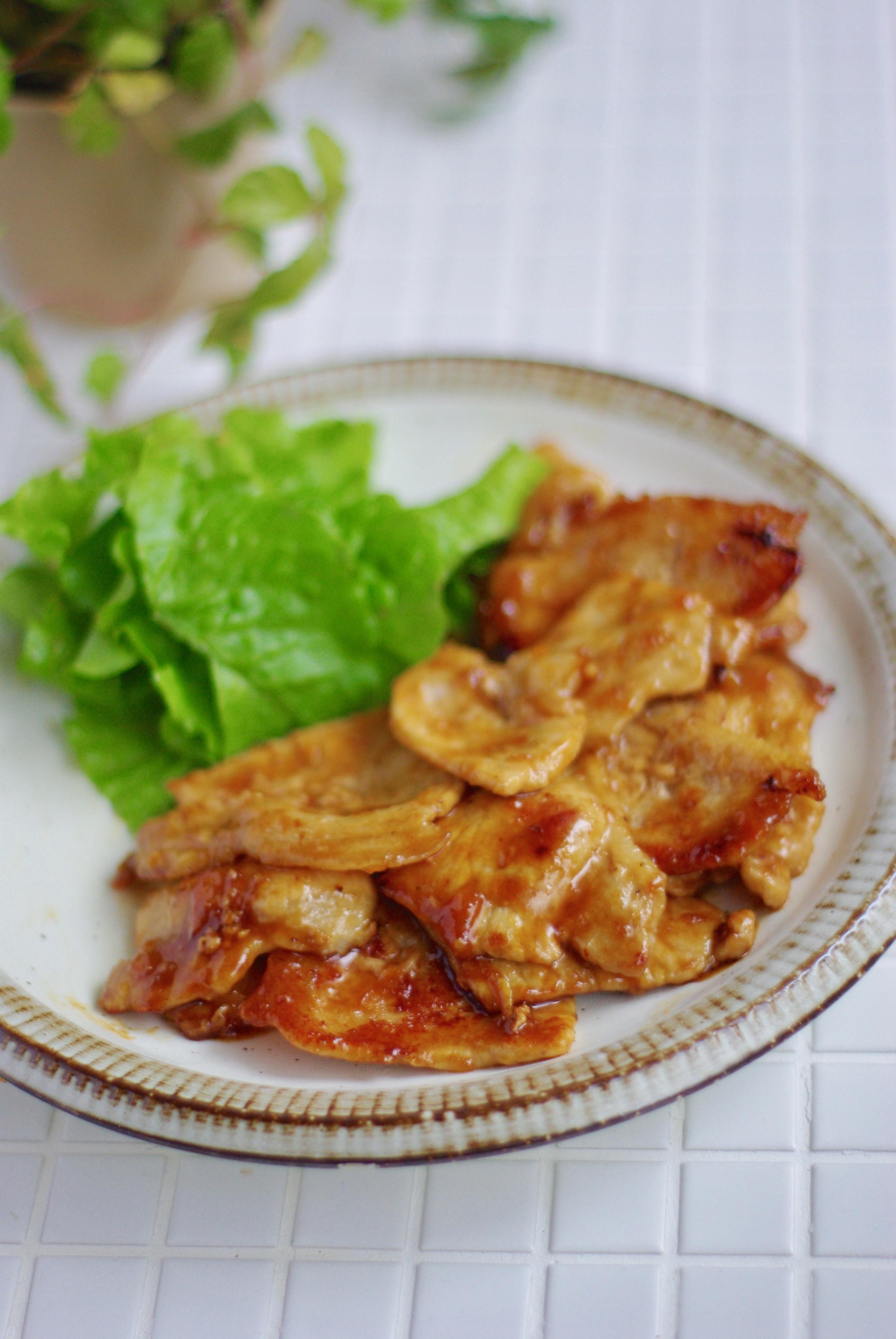 焼き レシピ 生姜