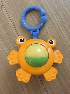 カエル ガラガラ