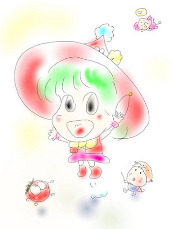 勘太さんイラストー5-354