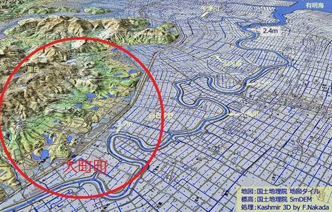 六角川地図