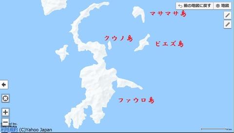 ピエズ島地図