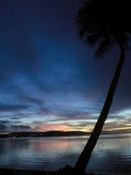 Guam の夕暮れ