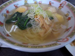 海老ワンタン麺