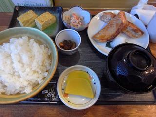 朝定食@まえかわ