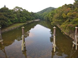 五十鈴川の朝