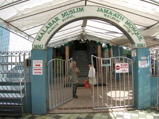 モスク入り口