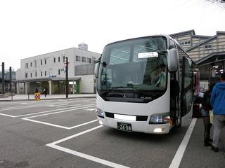 富山駅到着