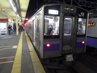 701系で青森へ