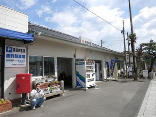 那珂湊駅に戻ります