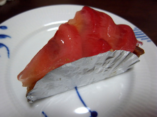 赤りんごのタルト