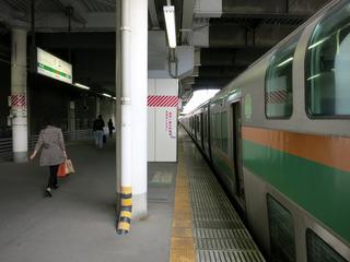 小山駅に到着