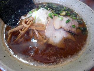 海老の香り醤油ラーメン@あった亭