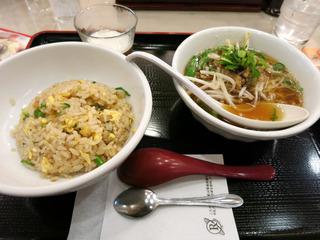 ランチセット@はち版麺屋