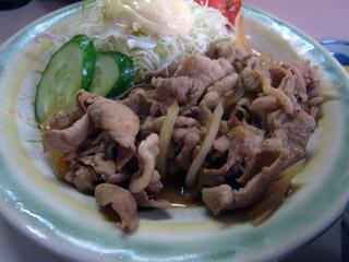 焼肉定食@万福-2
