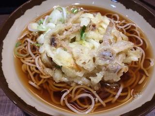 かき揚げ蕎麦@福寿草