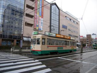 富山駅前電停