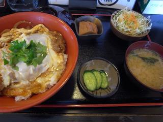 ロースカツ丼@壬屋
