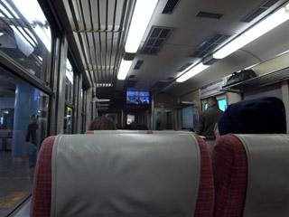 テレビカー@京阪電車