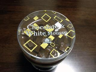チョコレートアンドホワイトムース