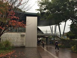 坂本駅に到着