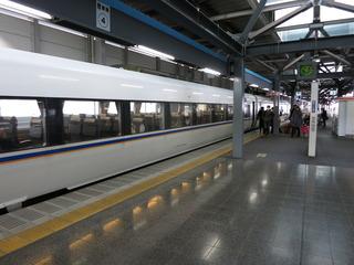 福井駅到着