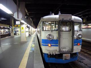 福井駅にて乗り換え