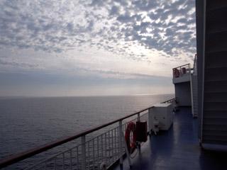 下船前@新日本海フェリー