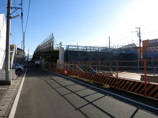 酒匂川2号橋導入部