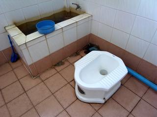 タイ式トイレ