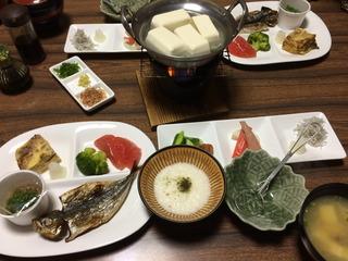 朝食@たきい旅館