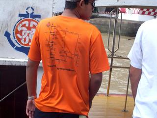 ボート屋さんのTシャツ