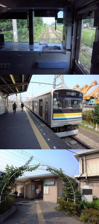 扇町駅@鶴見線
