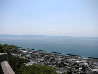 伊豆半島を望む