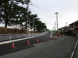酒匂川2号橋側道