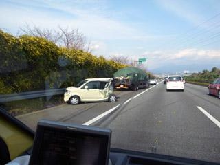 事故@東名