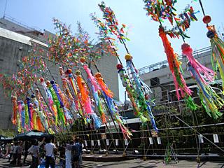 七夕祭りの季節が近づいてきました。