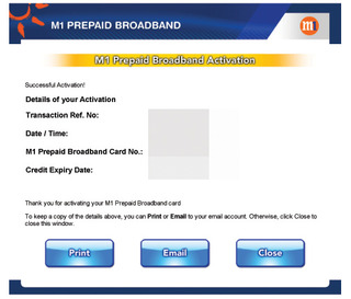 M1 Prepaid Broadband Top-up