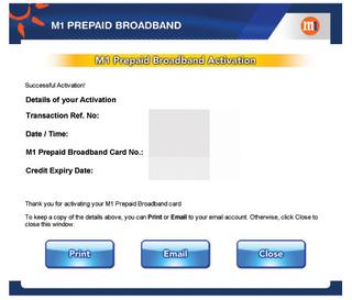 M1 Prepaid Broadband Top-up