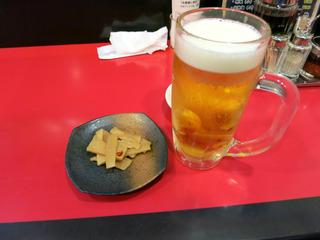 ビールアンドメンマ