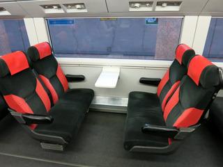 昔のままの座席