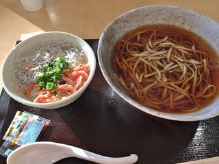 ミニ駿河丼&かけそば@酒井
