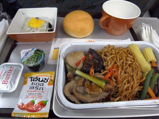 ベトナム行き機内食