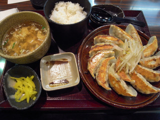 浜松餃子定食