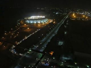 幕張の夜景