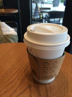 ホットコーヒー@長野