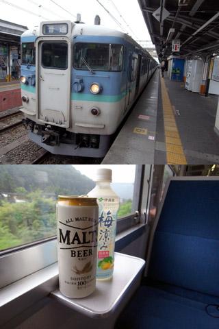 115系@中央線高尾駅